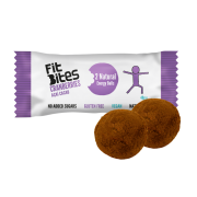 FitBites cranberry acai and cacao energy balls