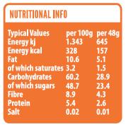 Orange nutritional