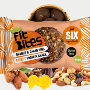 ORANGE & CACAO NIBS (BOX OF 16)